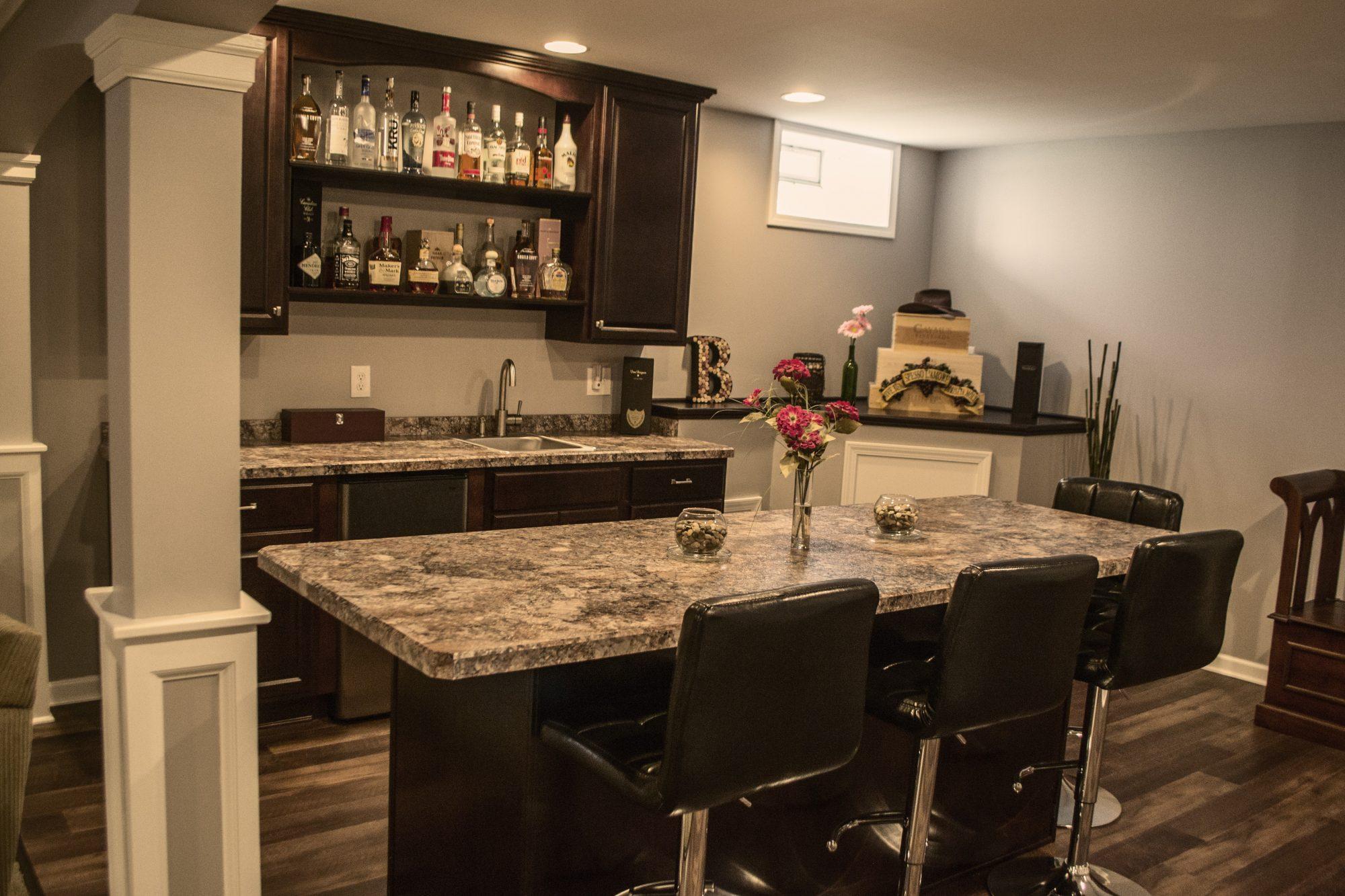 Basement Remodeling Gallery - Kaz Home Improvements